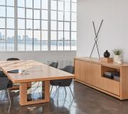 Highline Fifty Conference Table, Highline Twenty-Five Credenza