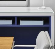 Highline Fifty Conference Table with Highline Fifty Credenza