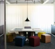 Highline Fifty Credenzas and Highline Fifty Meeting Table